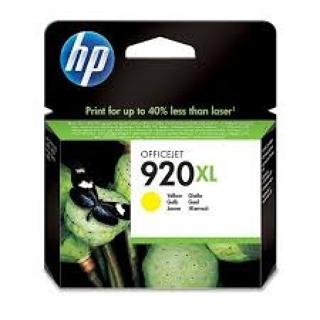 HP Cartridge CD974AE No.920XL Yellow