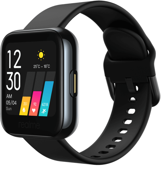 "RealMe SmartWatch,1.4"", black"