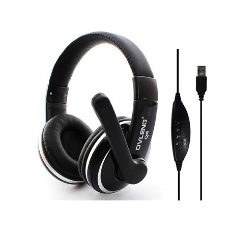 OVLENG Q6 Gaming Headset USB Silver