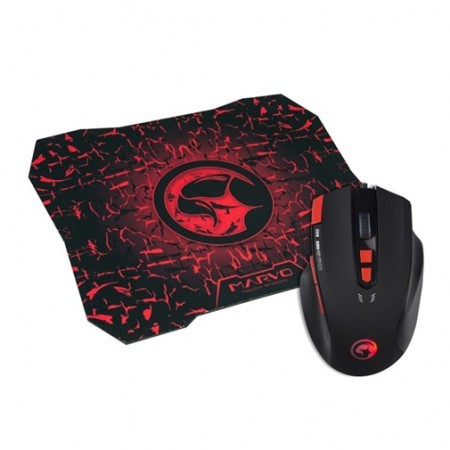 Marvo Gaming miš i podloga set G928 +G1