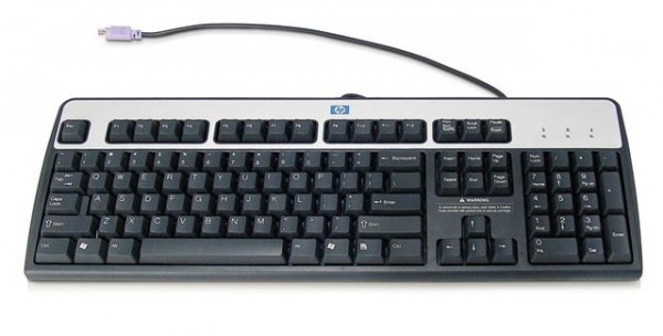 KB HP Standard Basic Keyboard 2004 PS2, DT527A